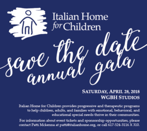 2018 Annual Gala Save The Date