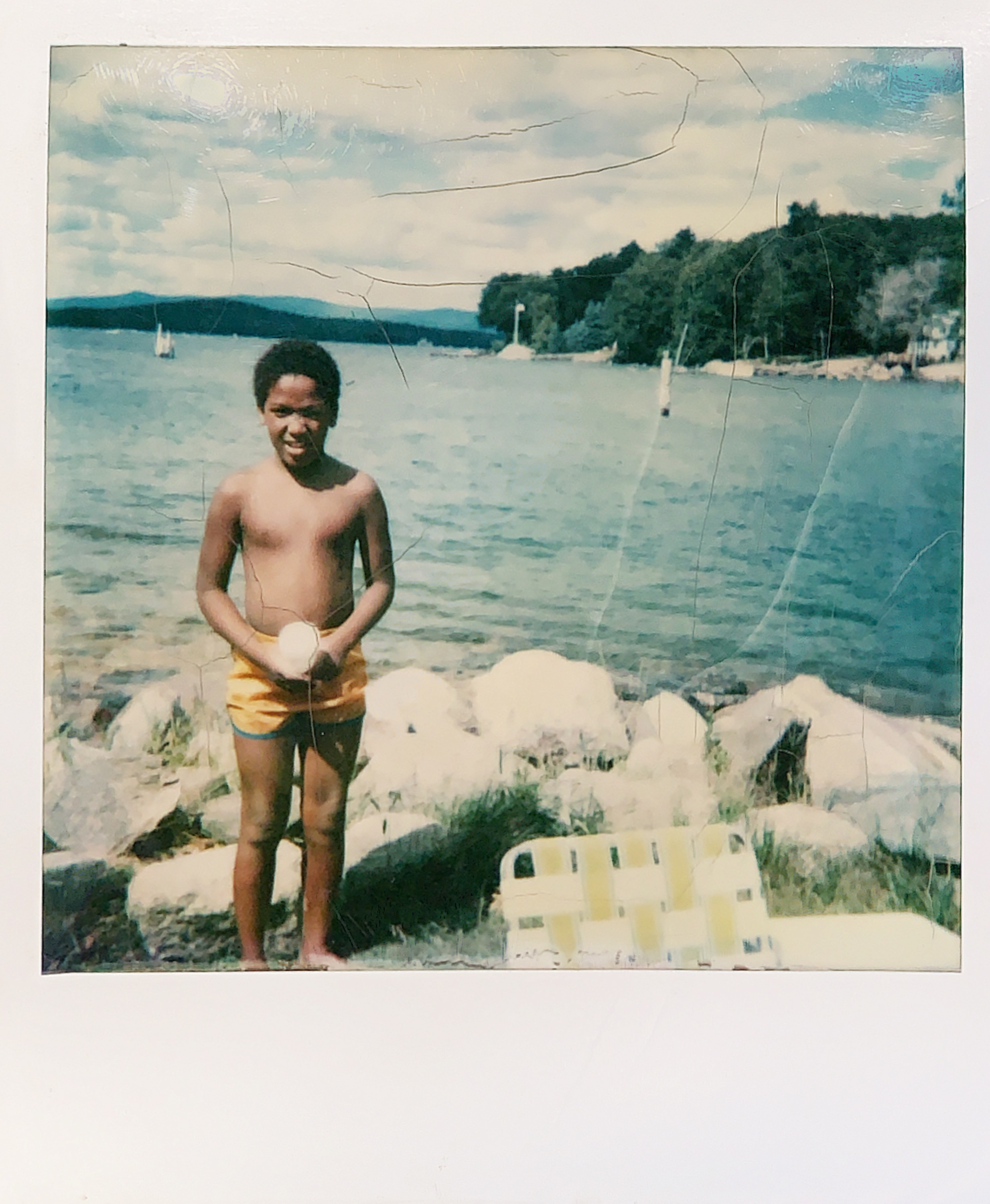A trip to a lake in the 1980s