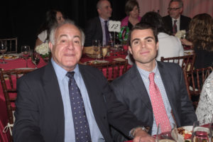 Bob and James Tambone at 2018 Italian Home Gala