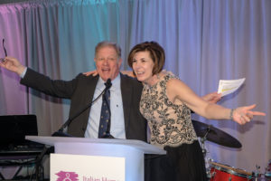 Jimmy Tingle & Diana Dorci raising money for Italian Home