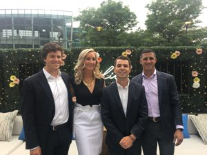 Spring Soiree Organizers: Peter Heffrin, Nicole Solera Murphy, James Tambone, and Joe Fabiano