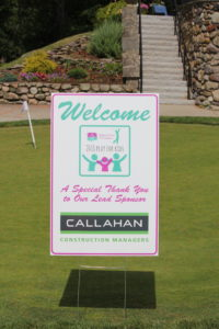 Thanks to Callahan Construction Managers, our lead sponsor