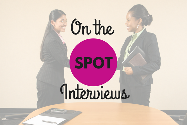 On the Spot Interviews